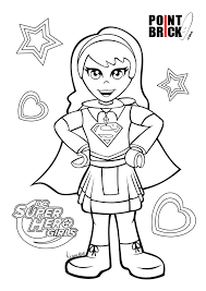 Disegni Da Colorare Lego Dc Comics Superhero Girls Dc Super Heroes