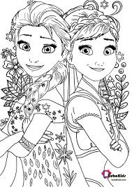 Coloring pages for toddlers, preschool and kindergarten. Frozen 2 Coloring Page For Kids Collection Of Cartoon Coloring Pages For Teenage Prin Elsa Coloring Pages Disney Coloring Pages Disney Princess Coloring Pages