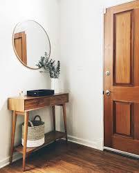 Modern Entryway how to master a minimal midcentury modern entryway living 7311 by uwakikaiketsu.us