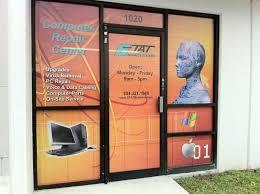 Door Wraps Storefront Window Wraps Davie Window Graphics