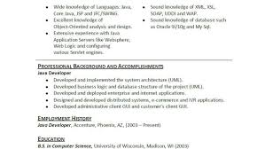 Android Developer Resume For Fresher Java 2 Years Experience