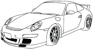 Porsche 911 Coloring Pages At Getdrawingscom Free For Personal