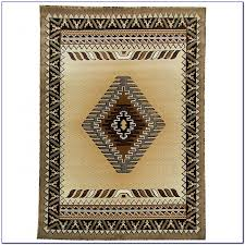 southwestern area rugs red