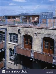 Barge Murphy Apartment Shepherdess Walk Exterior Of New Home On - Warehouse loft apartment exterior