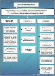 Понятие структура функции и типология политических партий Политическая партия