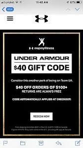 under armour coupon 40 off 100 expires 5 19 19 ua promo code