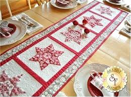 xmas table runners table runner kit on thumbnail to zoom christmas table runner sewing projects