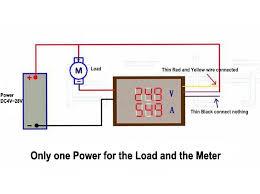 2019 digital 4 bit dc 200v 0 10a voltmeter ammeter panel red blue digital 4 bitdc 200v 0 10a voltmeter ammeter panel red blue led dual display shunt 12v 24vcar voltage current monitor tester