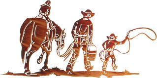 on cowboy metal wall art with cowboy metal wall art cowboy wall hangings cowboys and horses