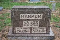 "Myra Elizabeth Ann ""Lizzie"" Payne Harper (1874-1934) - Find A Grave Memorial"