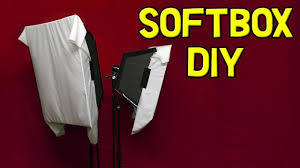 Light Diffusing Foam Softbox Diy With Continuous Light For Video 2017 Instructions Large Diffused Foam Board