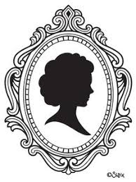 mirror frame drawing. Cameo Image - Vector Clip Art Online, Royalty Free \u0026 Public Domain Mirror Frame Drawing I