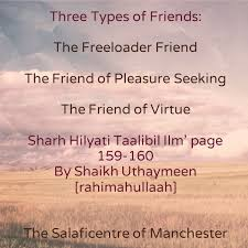 Three Types Of Friends The Freeloader Friend The Friend Of Mesmerizing Quotes On Wah A True Friend Is