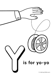 Y Letter Coloring Pages Of Alphabet Y Letter Words For Kids
