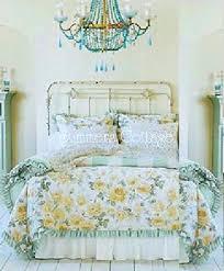 full queen rachel ashwell shabby chic ruffles roses cabana stripe duvet comforter cover set view images