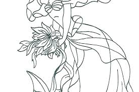 Printable Little Mermaid Coloring Pages And His Dog Coloring Page