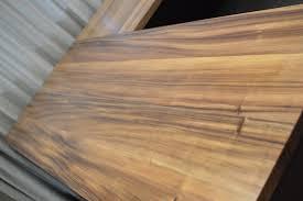 Monkeypod Desks Satoshi Yamauchi Woodworks