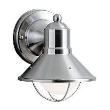 outdoor lighting brushed nickel stainless steel outdoor ceiling lights marine grade stainless steel outdoor lighting stainless steel post light