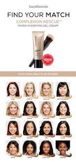 plexion rescue tinted hydrating gel cream a multi tasking genius that bines skincare benefits makeup tricksmakeup ideasmakeup basicsbare minerals