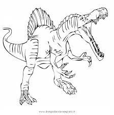 Disegno Spinosauro02 Animali Da Colorare