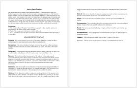 Data Analysis Report Template 7 Formats For Ppt Pdf Word