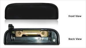 original perodua kancil front left door handle 19578 05 fl