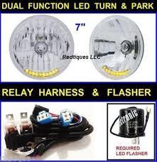7 034 10 led turn signal park headlights flasher harness dune image is loading 7 034 10 led turn signal park headlights