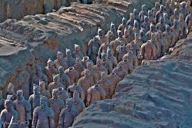 terracotta warriors troops