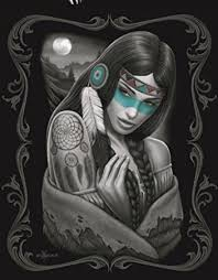 Dream Catcher Blankets Amazon DGA Native Girl Signature Collection Super Soft Queen 44