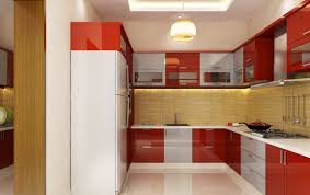 awesome red kitchen design