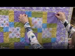 Disappearing Nine Patch with Mitered Corner Borders | Quilt ... & Disappearing Nine Patch with Mitered Corner Borders | Quilt Tutorial -  YouTube Adamdwight.com