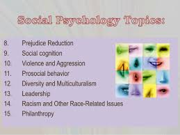 psychology term paper topics prejudice and discrimination 12 having a good topic