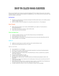 Cover Letter How To Type The Perfect Resume How To Write The