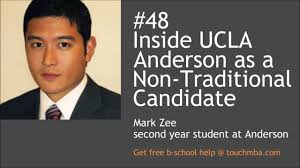 inside ucla anderson as a non traditional candidate mark zee inside ucla anderson as a non traditional candidate mark zee 14