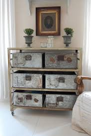 industrial chic furniture ideas. old factory drawers dresser pull out and use to make underbed storage with wheels then baskets you could either keep the shell in industrial chic furniture ideas b