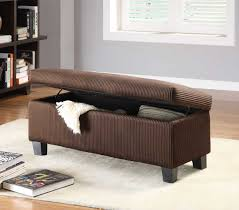 brown storage bench.  Bench Homelegance Clair Lift Top Storage Bench Ottoman  Chocolate Corduroy Intended Brown