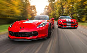 Chevrolet Corvette Grand Sport and Ford Mustang Shelby GT350 ...