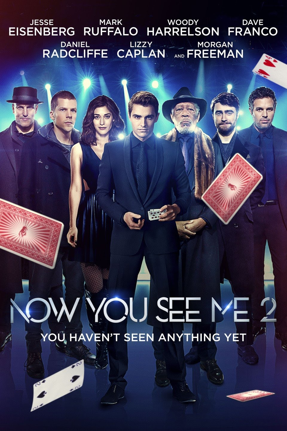 Now You See Me 2 (2016) Dual Audio {Hindi-English} 480p | 720p| 1080p