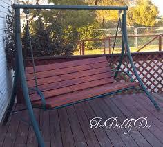 ideas patio furniture swing chair patio. fabulous idea refurbish old patio swing chair into new wooden one ideas furniture o
