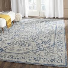 modern gray and blue area rug pertaining to safavieh patina power loom light reviews