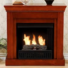 southern enterprises inc walden petite gel fuel fireplace mahogany