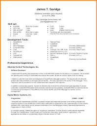 10 Perfect Resume Format For Experience Address Example