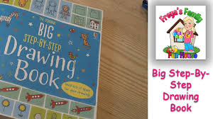 the usborne big step by step drawing book fiona watt review