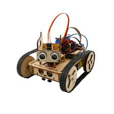 wood tank chassis diy kit for arduino