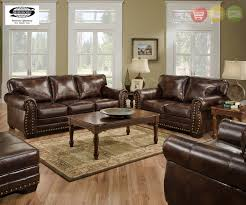 brown leather sofa sets. Fine Leather Encore Vintage Brown Bonded Leather Sofa Set W Bombe Arms U0026 Nailhead  Accents For Sets W