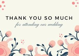 Wedding Gift Thank You Notes | Lovely Thank You Card Wording