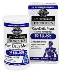 garden of life dr formulated probiotics once daily s men s 30 veggie caps