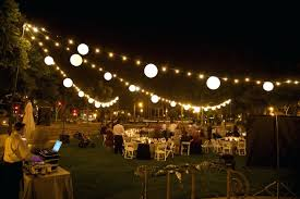 cool string lights outdoor with globe light backyard party decorations led