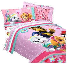 ding paw patrol toddler sheets bedding set