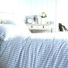 decoration blue and white striped duvet cover lovely satin stripe navy natural linen custom with